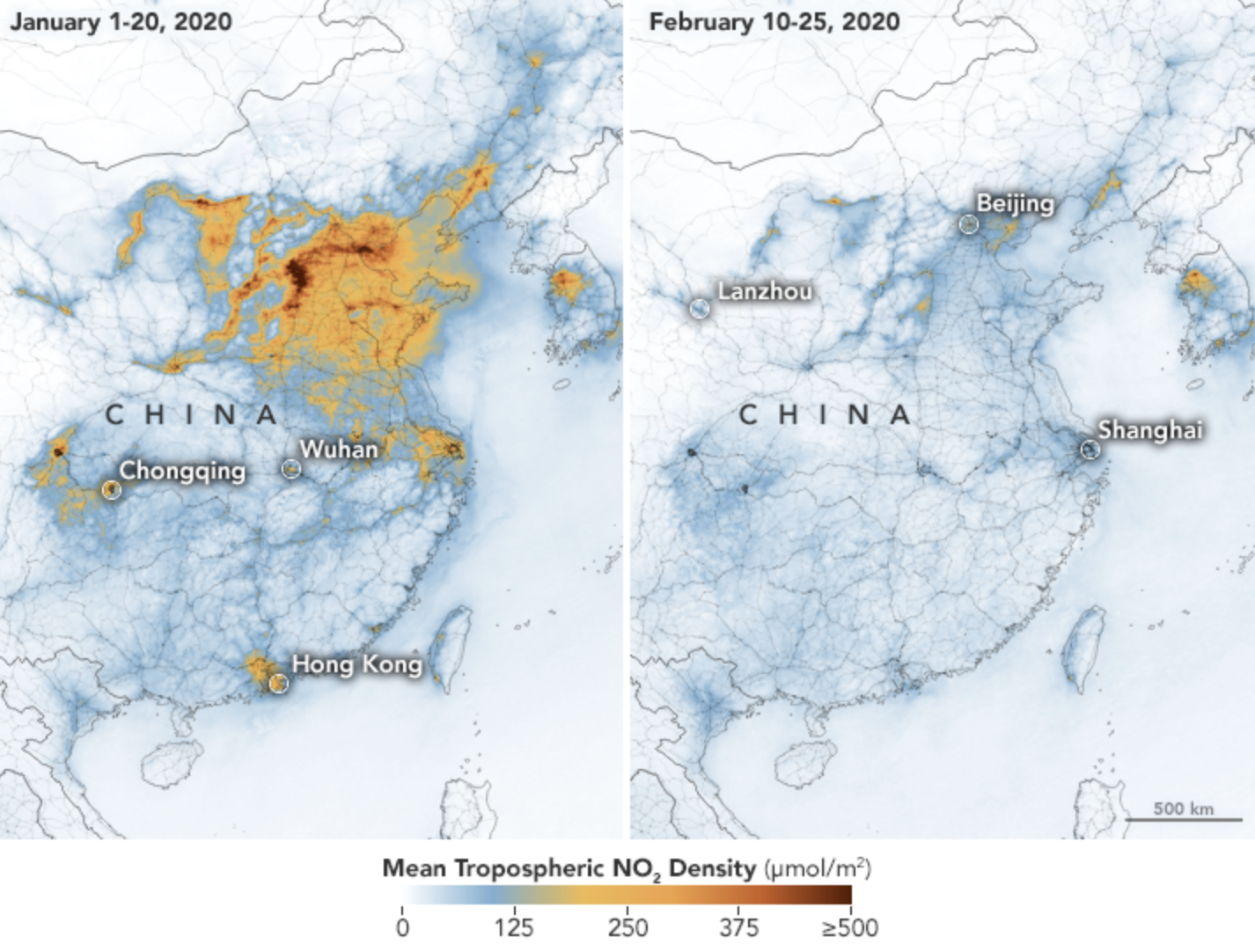 china air quality map